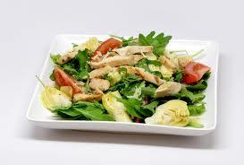 Chicken & Artichoke Salad